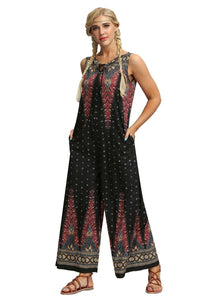 Bohemia Casual Wide Legs Jumpsuits