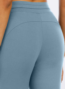 Squat Proof Casual Women Exercise Pants-JustFittoo