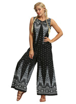Load image into Gallery viewer, Bohemia Casual Wide Legs Jumpsuits