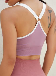 Women Adjustable Soft Running Yoga Bra