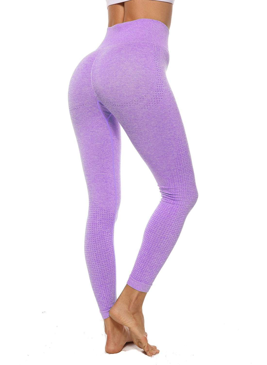 Women's Breathable Seamless Running Yoga Pants-JustFittoo