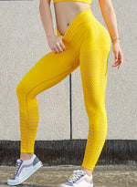 Load image into Gallery viewer, Seamless Hollow Out Leggings-JustFittoo