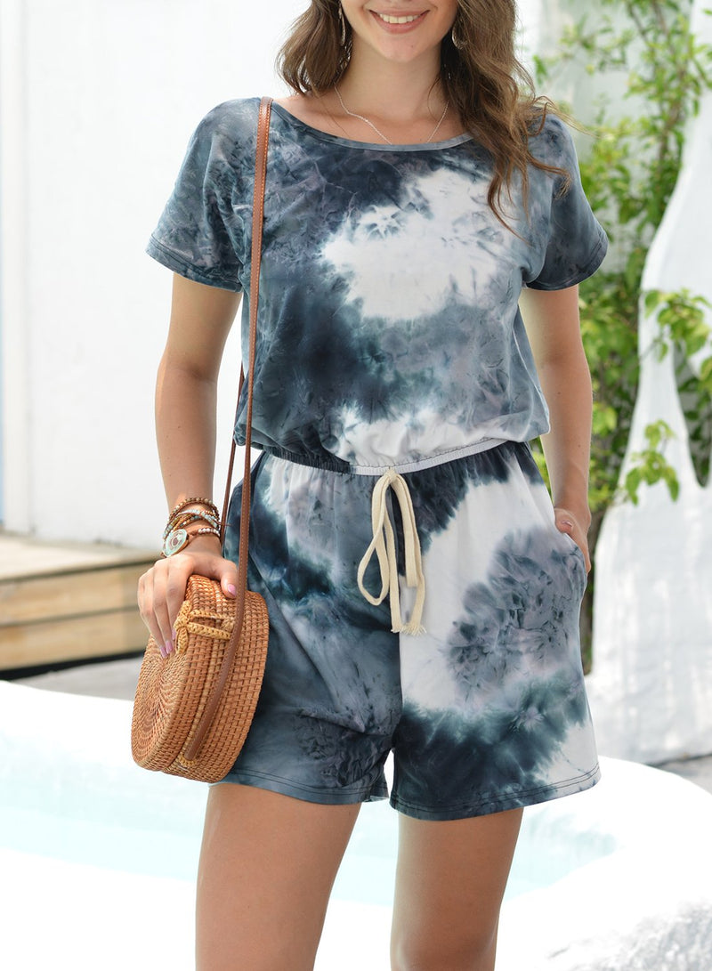 Tie-dyed Comfy T-shirt and Shorts