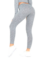 Load image into Gallery viewer, Knitted Comfortable Elastic Waistband Leggings-JustFittoo