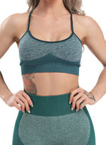 Load image into Gallery viewer, Women's Seamless Spaghetti Strap Backless Yoga Bra