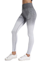 Load image into Gallery viewer, Gradient Color Training Seamless Workout Yoga Pants-JustFittoo