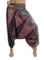 Load image into Gallery viewer, Women's Bohemia Palazzo Print Yoga Pants