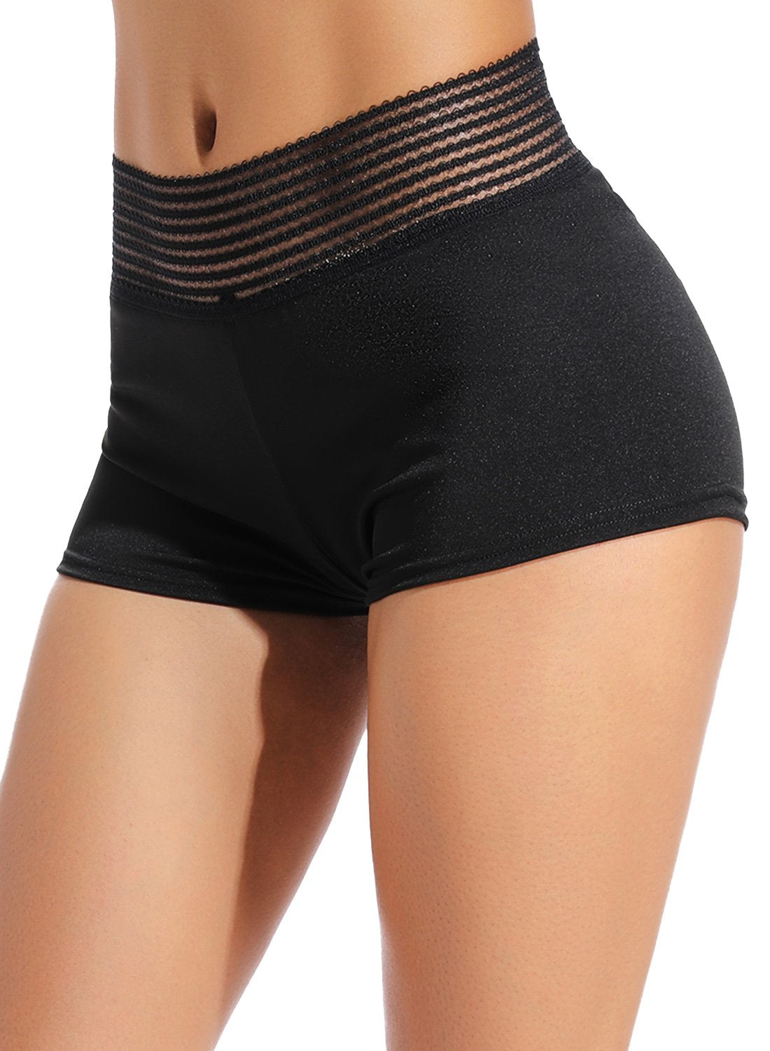 Athletic Non See-through Mesh Shorts