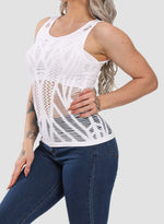 Load image into Gallery viewer, Hollow Out Seamless Breathable Yoga Vest