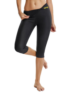 Neoprene Double-faced Yoga Cropped Pants