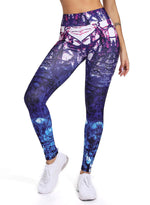 Load image into Gallery viewer, Women's Printed Yoga Pants for Workout-JustFittoo