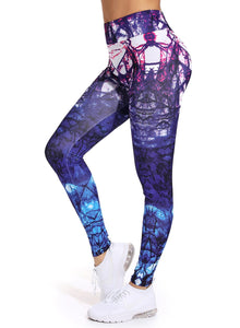 Women's Printed Yoga Pants for Workout-JustFittoo