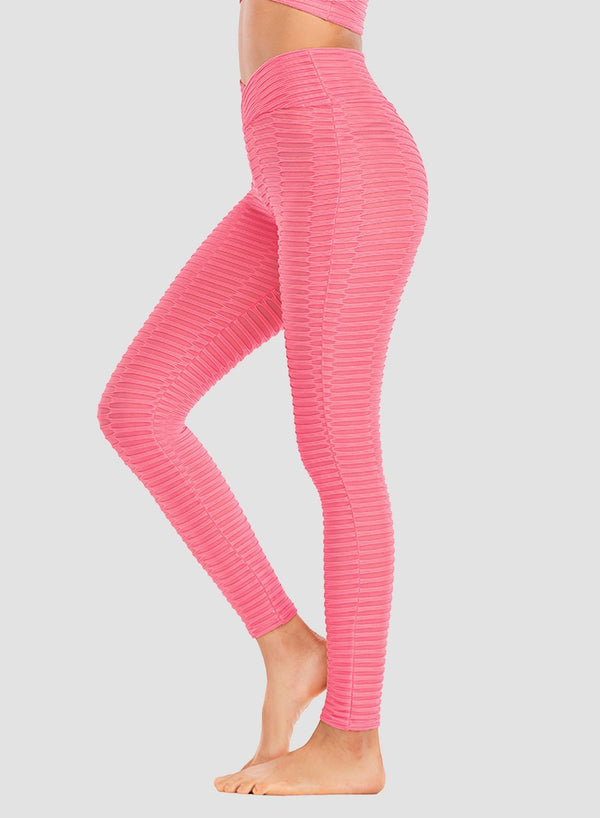 Fittoo Breathable Textured Comfy Leggings