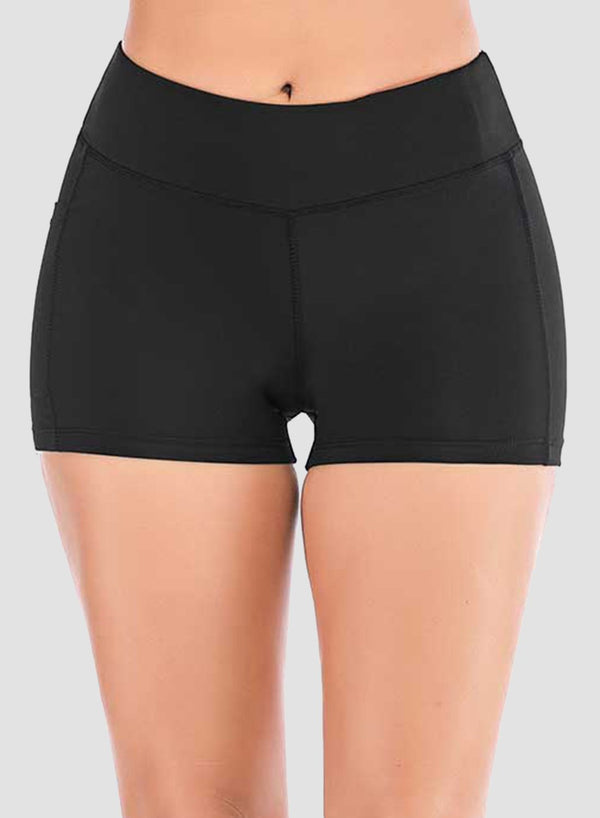 Breathable Pockets Low-intensity Exercise Shorts