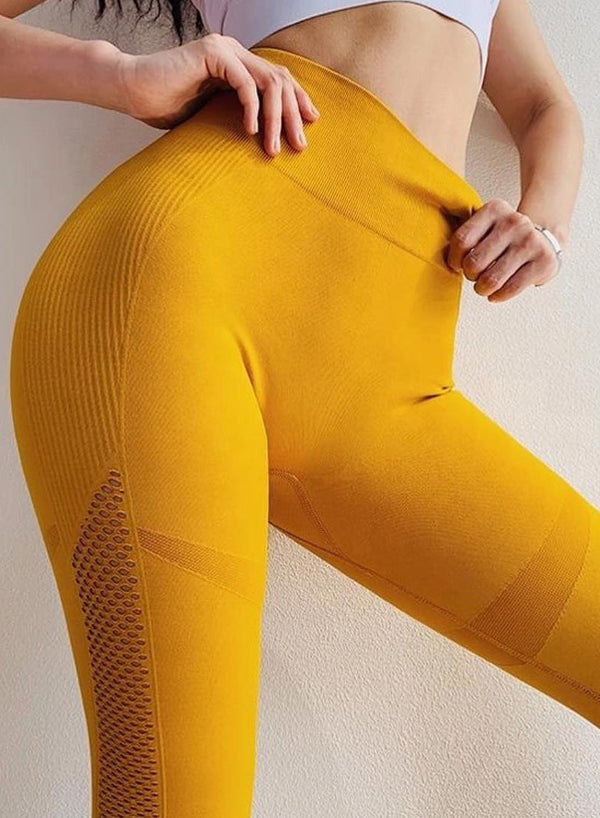 High Waist Leggings Workout Fitness Yoga Pants-JustFittoo