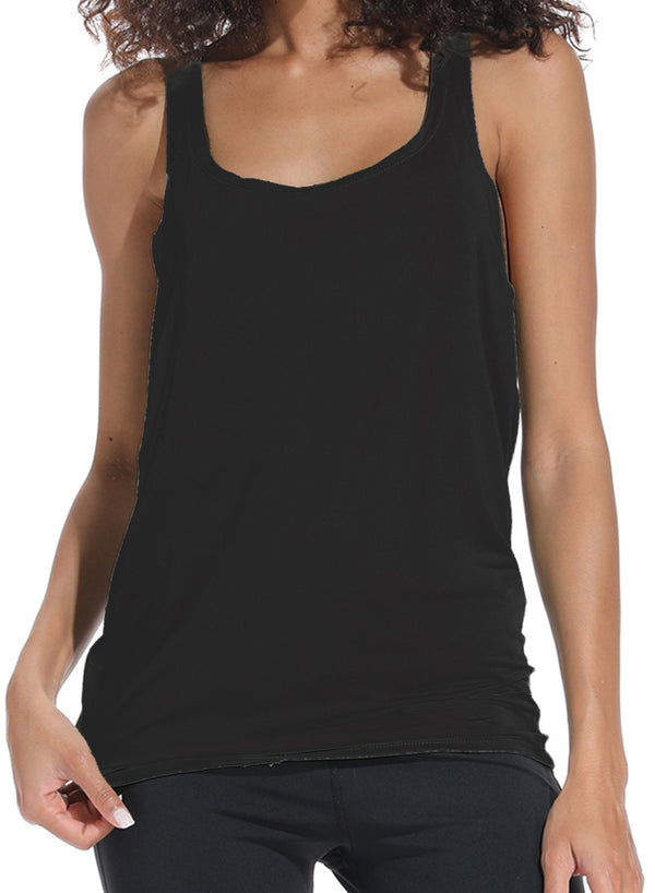 Casual Vest Hollow Out Yoga Tank Top