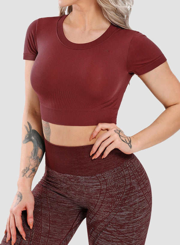 Seamless High Elastic Comfy Top
