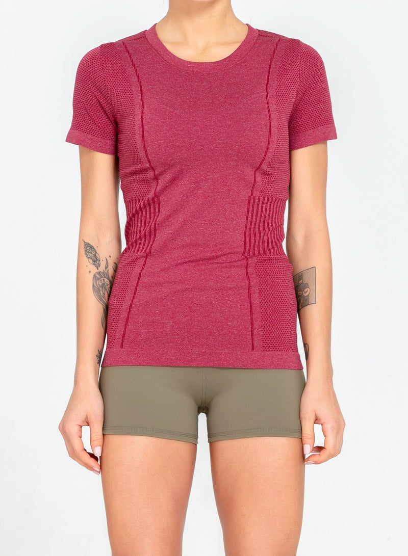 Seamless Ultra Soft Sweat-wicking Top