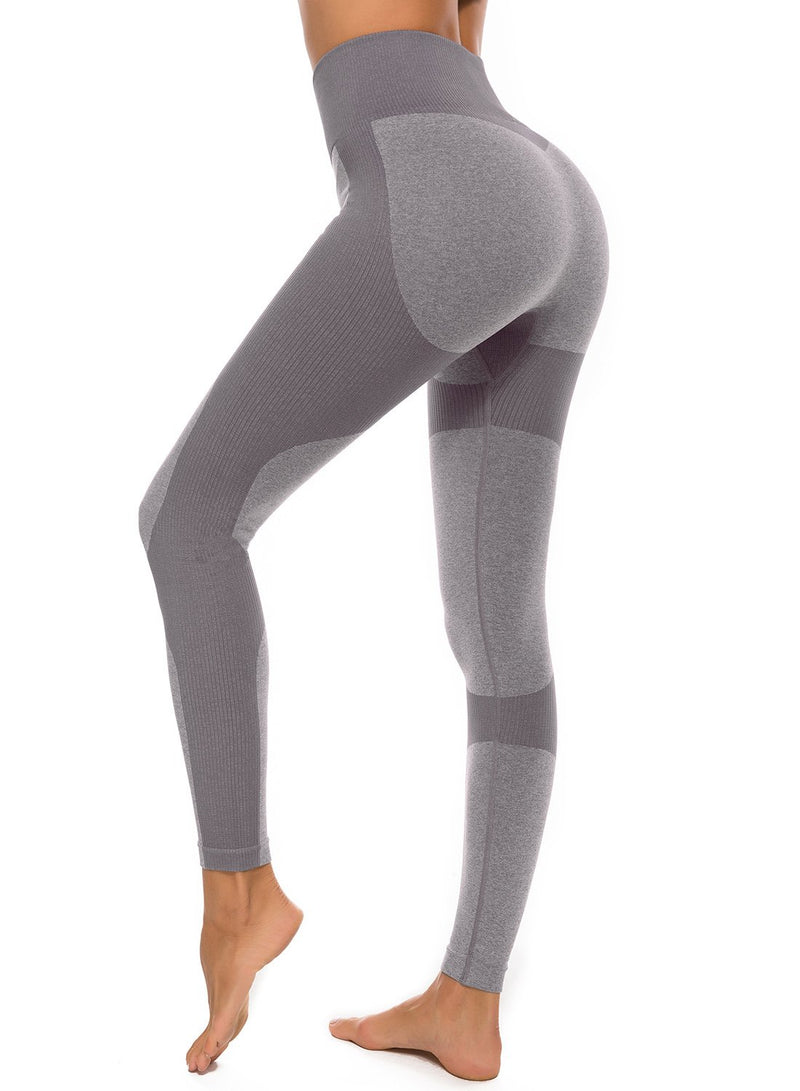 FITTOO Women's Tone in Tone Ultra Soft Breatheable Yoga Pants-JustFittoo