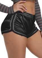 Load image into Gallery viewer, Stripes Elastic Waistband Mid Waisted Shorts