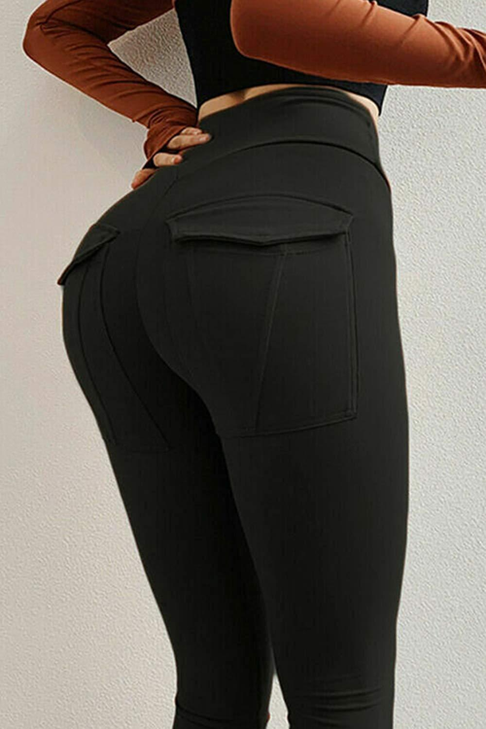 Women's Out Pockets Tight Yoga Pants-JustFittoo