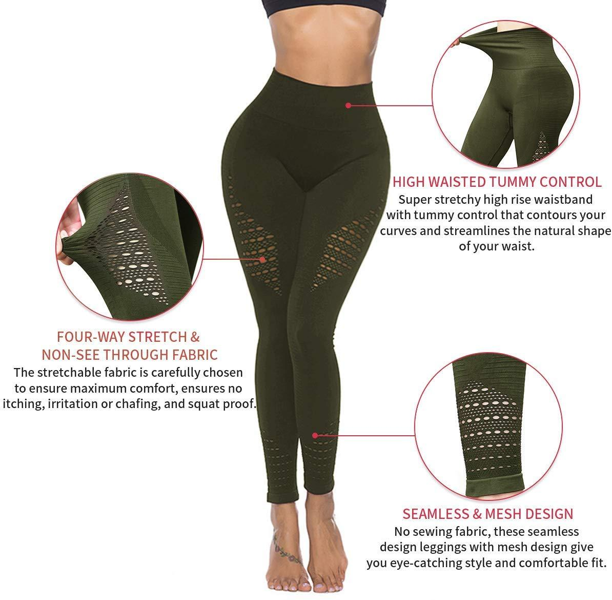Form Fitting Yoga Pants Soft Fitness Leggings-JustFittoo