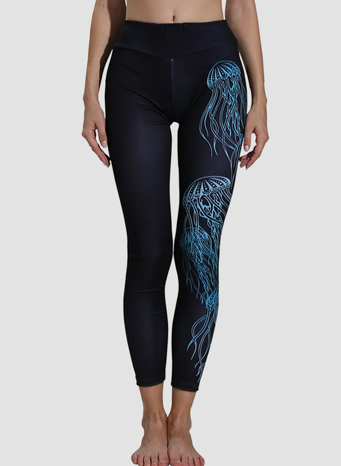 Jellyfish Breathable Tight Fit Leggings