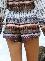 Load image into Gallery viewer, Faux Two-piece Bohemia Shorts