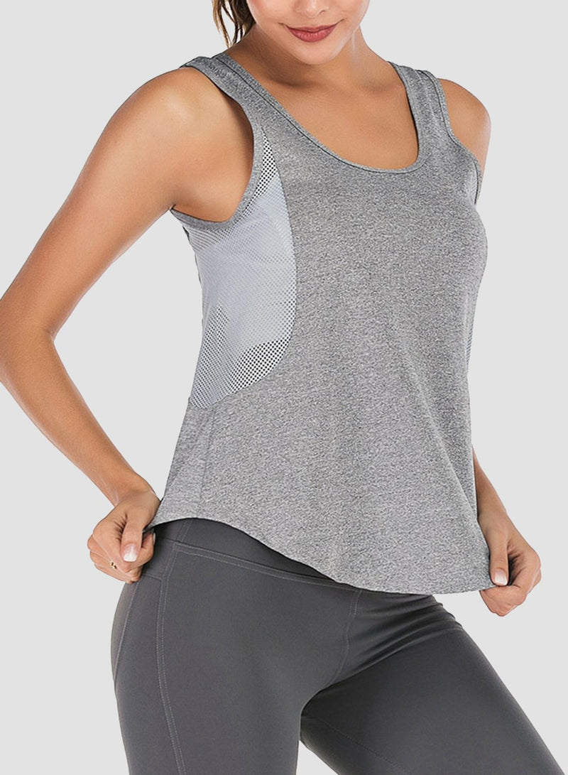 Mesh Breathable Loose Vest
