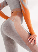 Load image into Gallery viewer, Super Stretchy Seamless Gradient Color Leggings-JustFittoo