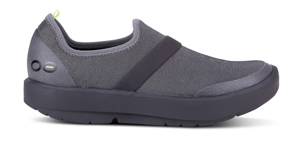 Oofos - Oomg Black Grey fiber women's