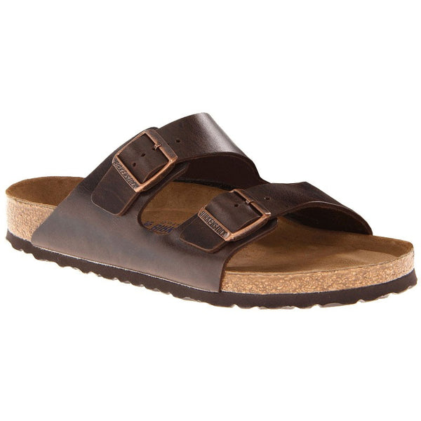 Birkenstock Arizona - Amalfi Brown Soft Footbed
