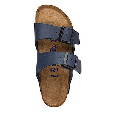Birkenstock Arizona - Blue Soft Footbed