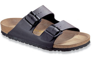 Birkenstock Arizona - Black Soft Footbed