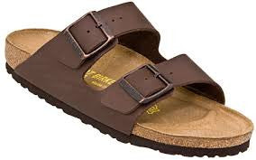 Birkenstock Arizona - Brown Birko-Flor