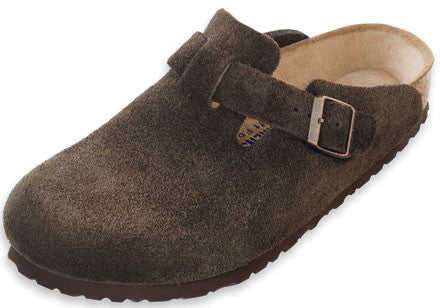Birkenstock Boston - Mocha Suede