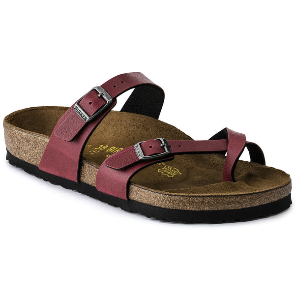 Birkenstock Mayari - Pull Up Bordeaux Vegan