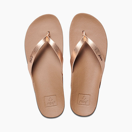 Reef Cushion Bounce Court Rose Gold - womens