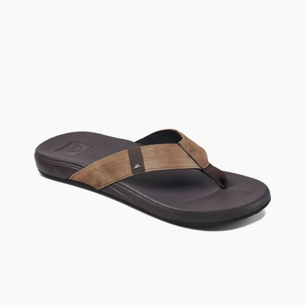 Reef Cushion Bounce Phantom Brown Tan - mens
