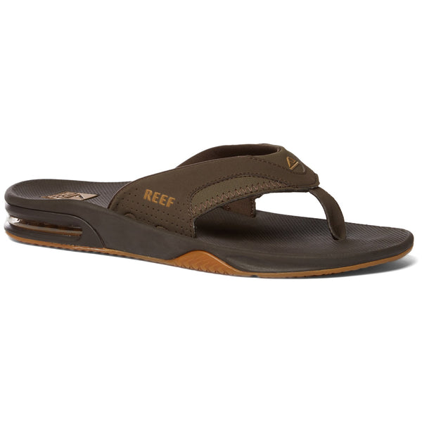 Reef Fanning Brown Gum - mens