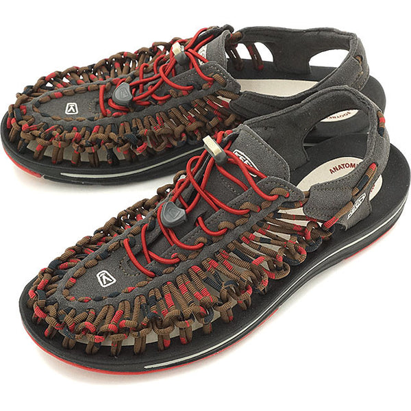 Keen Uneek Stripes Red Dahlia Raya - mens