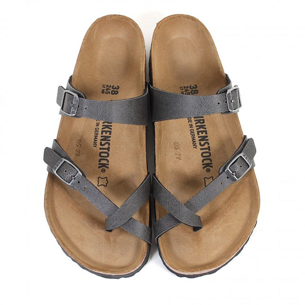 Birkenstock Mayari - Pull Up Anthracite Vegan