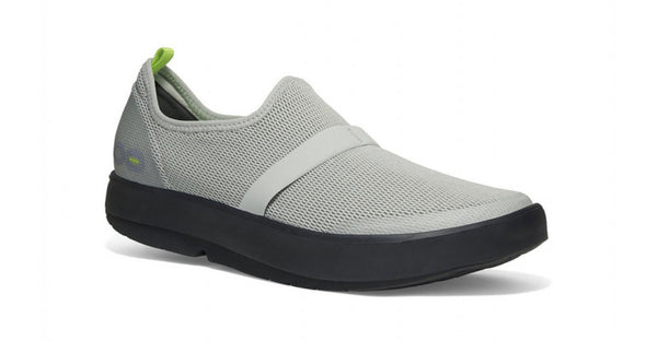 Oofos - OOmg Gray Black mesh - mens