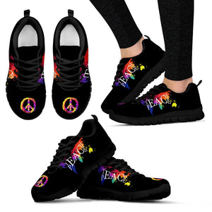 Teach Peace Hippie Sneaker - Wonder Hippie Official