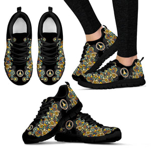 Mandala Peace Hippie Sneaker - Wonder Hippie Official