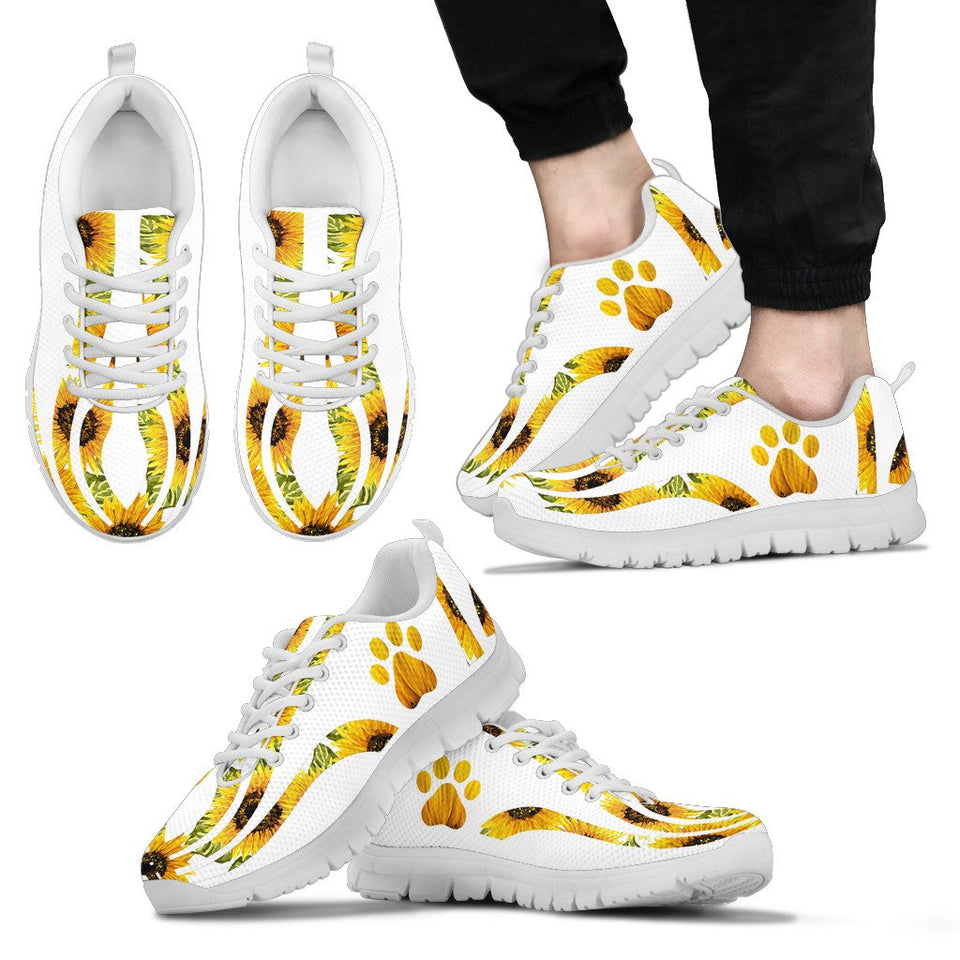 Sunflower Dog Paw Sneaker - Wonder Hippie Official