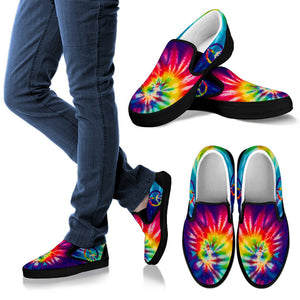 Tie Dye Hippie Slip On - Wonder Hippie Official