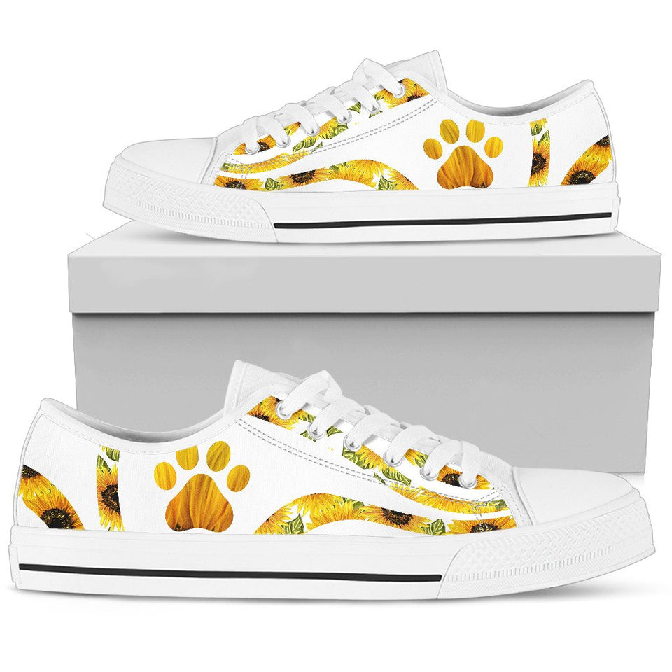 Sunflower Low Top Shoes - Wonder Hippie Official