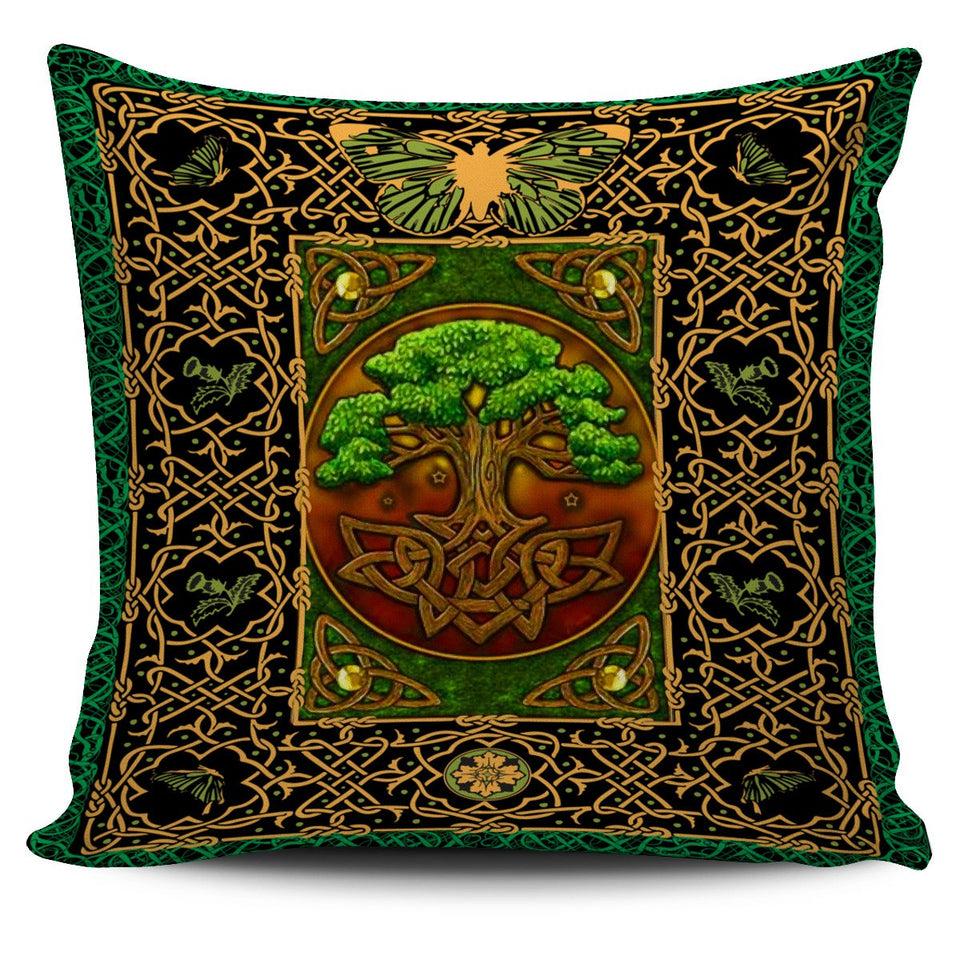 Hippie Bus Peace Mandala Pillow Case 450x450mm - Wonder Hippie Official