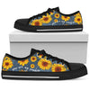 You are my sunshine sunflower low top shoes Women - Wonder Hippie Official